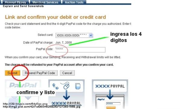 verificar cuenta paypal usa con tarjeta payoneer
