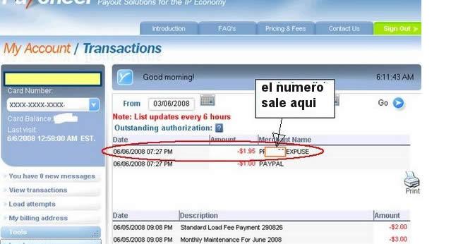 verificar paypal Usa con tarjeta payoneer