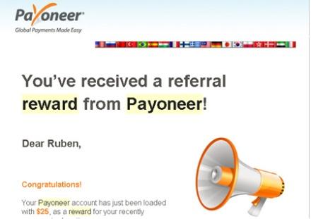 Programa de Afiliados de la Tarjeta Payoneer