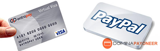 Verificar paypal con la tarjeta virtual entropay
