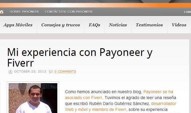 Ruben Dario Gutierrez Sanchez Fiverr