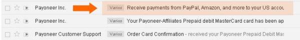 Solicita tu Cuenta bancaria en USA con Payoneer
